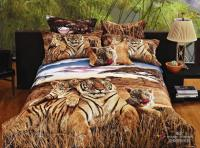 3d Siberian Tiger Print Bedding Comforter Set Queen Size ...