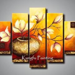 Nice Art For Living Room Tv Cabinet Design 100 Hand Painted Unframed Abstract 5 Panel Canvas Wall Decor Painting Modern Sets Com5221 Canada 2019 From Fineart Cad 67 01 Dhgate