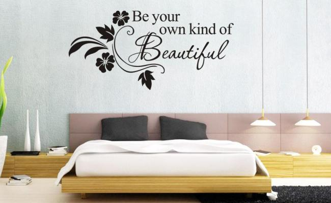 1066 60 80cm Wall Words Lettering Saying Wall Decor