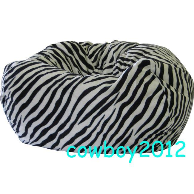 zebra print bean bag chair crushed velvet covers uk 2019 beanbag living room cushion indoor lounge outdoor sitting lounger from cowboy2012 50 94 dhgate com