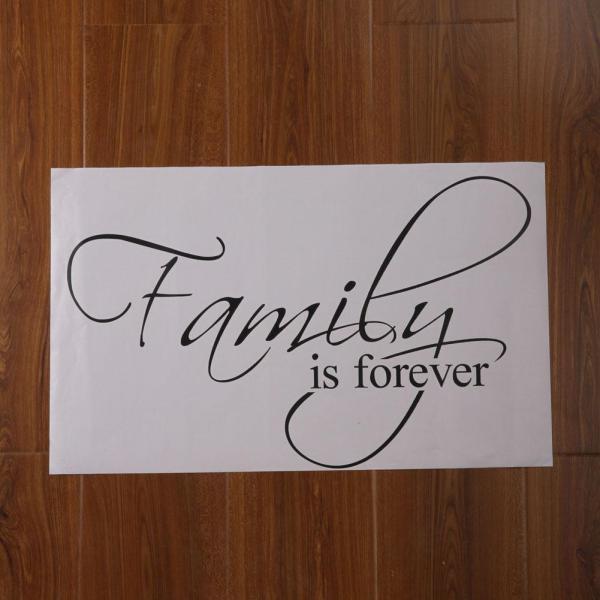 Family Vinyl Lettering Wall Art Home Sticker Cellphone Wallpaper