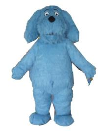 Am3038 Blue Dog Mascot Costume Party Costumes Advertising ...