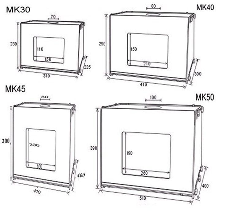 2021 110V/220V Professional Portable SANOTO 12x8 Mini Kit