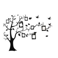 Black Photo Picture Frame Tree Vine Branch Removable Wall