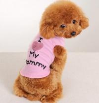 2017 Cool Summer Vest For Little Female Dog Sleeveless ...