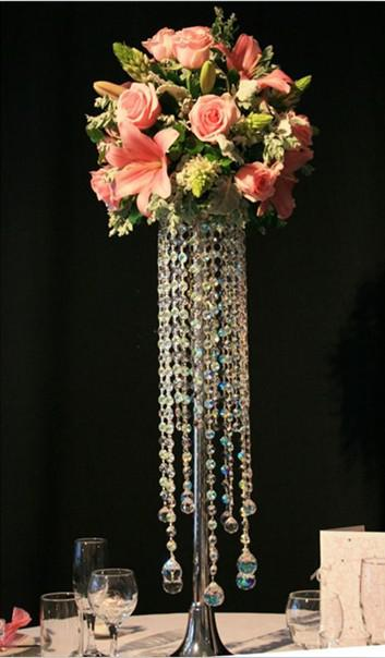 Crystal Chandelier Table Top Wedding Tale Chandelier Wedding Centerpiece Table Centerpiece