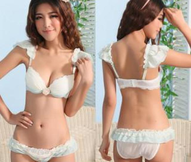 2019 2013 Girls Sexy And Sweet Flouncing Chiffon V Neck Bra Sets Underwire From Fashion_zoom 15 19 Dhgate Com