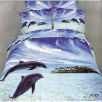 Dolphins Unique Oil Printed Bedding Set 3d Duvet/Quilt ...