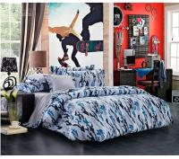 Newest Blue Camouflage Cool Bedding Sets Queen Full Size ...