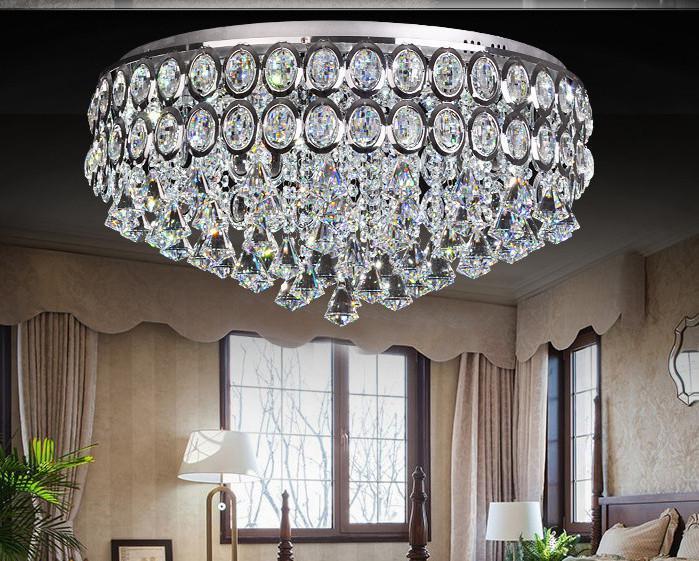 hanging light fixtures living room how to design modern crystal chandelier led ceiling pendant lamp ...