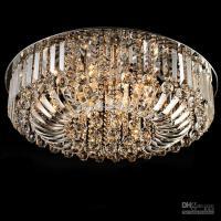 New Modern K9 Crystal Led Chandelier Ceiling Light Pendant ...