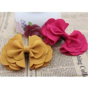 2018 diy multi layer handmade flowers