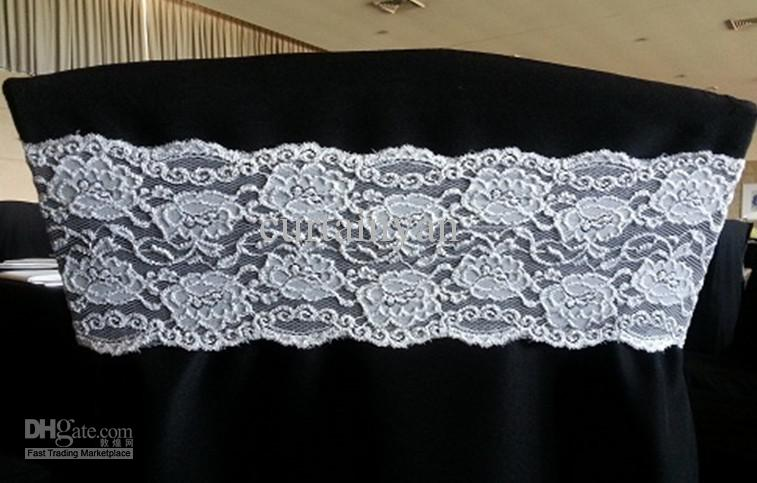 Lace Spandex Chair Band for Weddings Spandex Chair Band