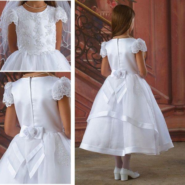2015 White Communion Dress Flower Girls' Dresses