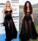 Backless Sheath Jennifer Morrison . Selena Gomez Corset