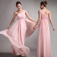 2014 Bridesmaid Dresses Sweet Princess Greek Style Goddess ...