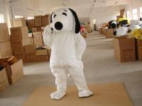 Adult Snoopy Dog Mascot Costume Boys Halloween Costumes ...