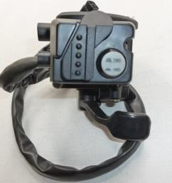 new grizzly 660 thumb throttle lever control 4x4 switch fits yamaha grizzly 660 4wd 2002 2008 oem atv oem atv parts from annkparts 81 21 dhgate com [ 2048 x 1536 Pixel ]