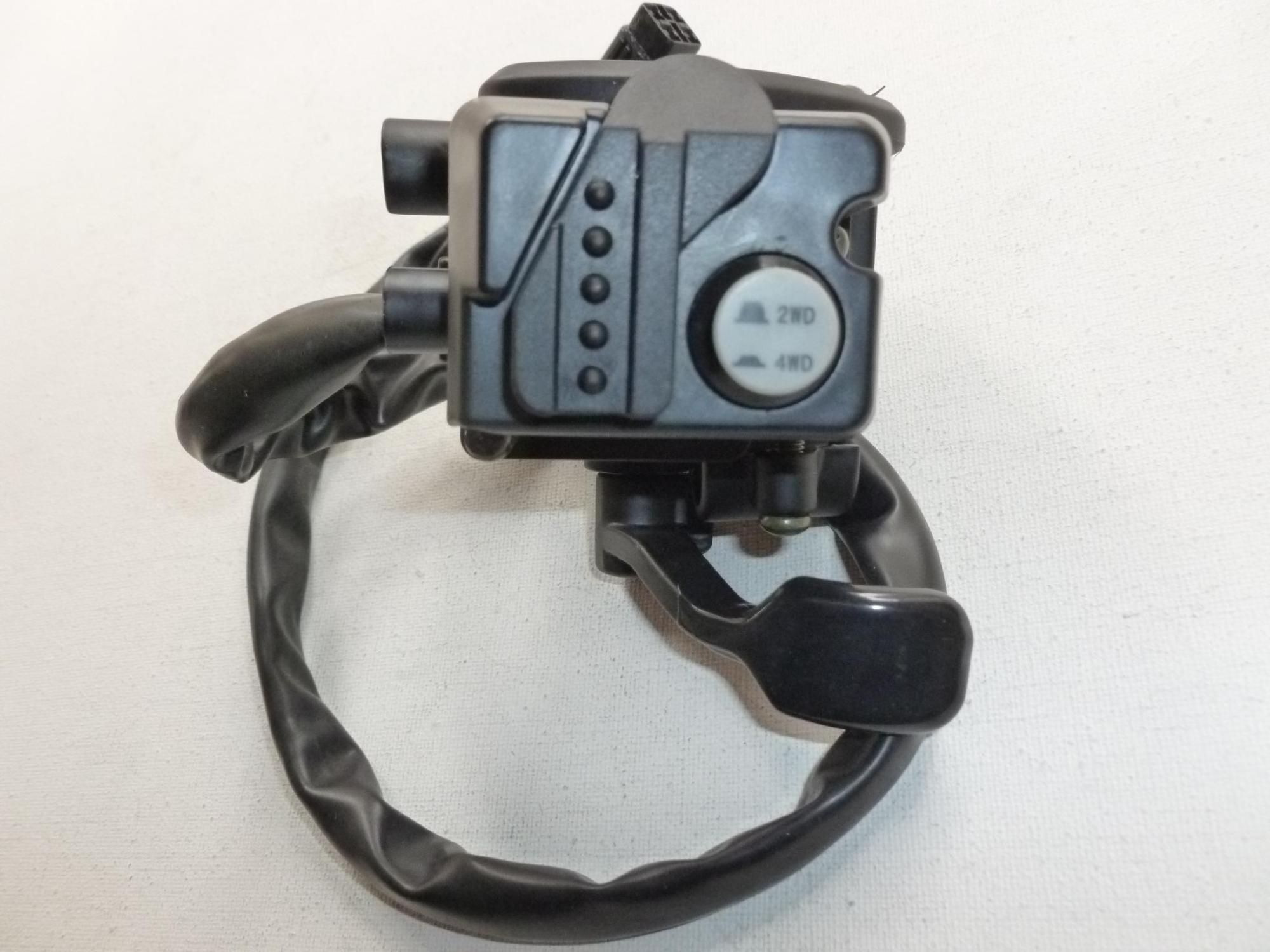 hight resolution of new grizzly 660 thumb throttle lever control 4x4 switch fits yamaha grizzly 660 4wd 2002 2008 oem atv oem atv parts from annkparts 81 21 dhgate com