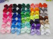 3inch grosgrain ribbon hair bows