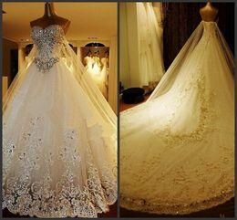 luxury crystal cathedral wedding