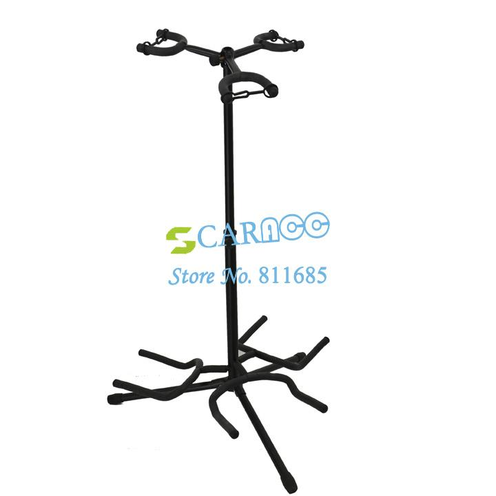 2019 New Triple Guitar Stand Hangers Adjustable Electric