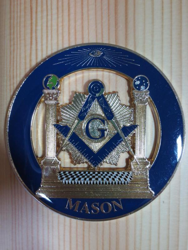 Masonic Car Badge Emblems Exquisite Fashion Accessories