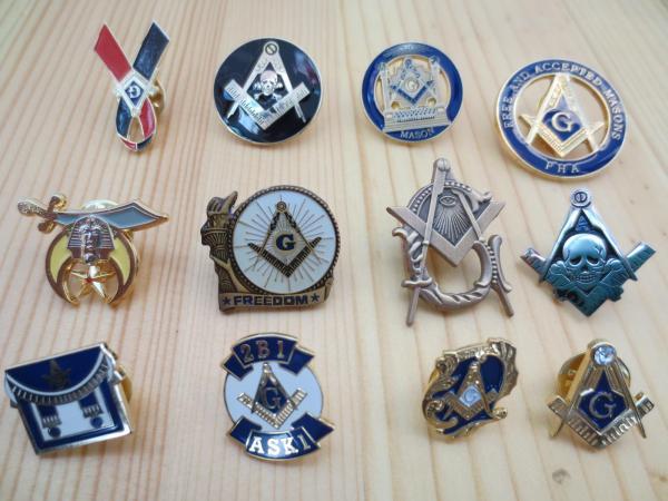 Masonic Lapel Pins Badge Mason Freemason Exquisite