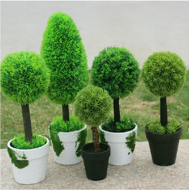 artificial plants for living room corner shelf 5 styles idyllic decorative potted fake grass ball cheap kiss balls 25cm best cactus