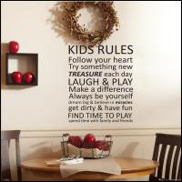 Vinyl Lettering Wall Art - a Wall Decal