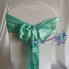 Tiffany Blue Wedding Chair Covers Officeworks Recliner Chairs 100 Satin Ribbon Cover