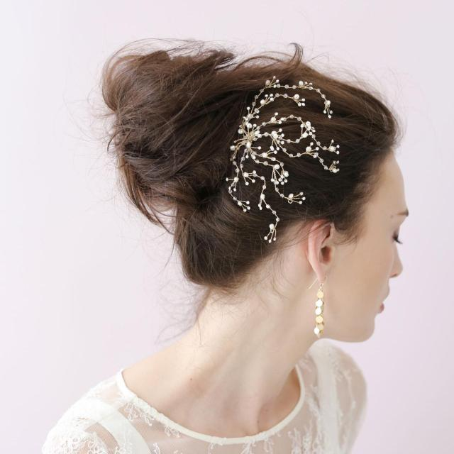 dainty crystal spray comb bridal hair accessories combs s wedding hair pins pin up hair accessories for wedding brides girls