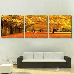 Canvas Prints For Living Room Girly 2019 Art Painting Modern Artwork Of Landscape 3 Piece Jpg