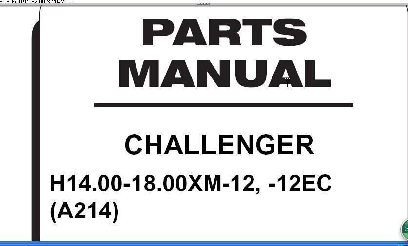 Hyster Forklift Parts Manual+Work Shop Manual+Cu Mmins