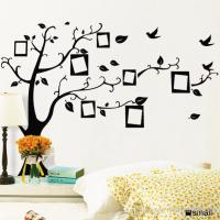 PVC Removable Photo Frame Family Tree Wall Stickers ...