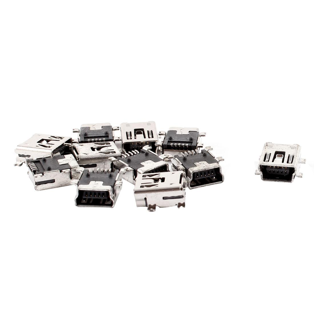 Mini Usb Type B Female 5 Pin Pcb Board Mount Jack Plug Charger Connector From Ux168car 3
