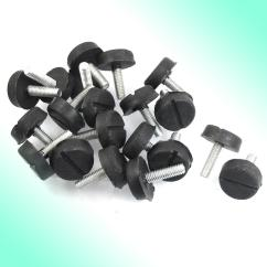 Threaded Chair Glides Hammock Swing For Two Screw On Type Furniture Glide Leveling Foot Adjuster 6mm X