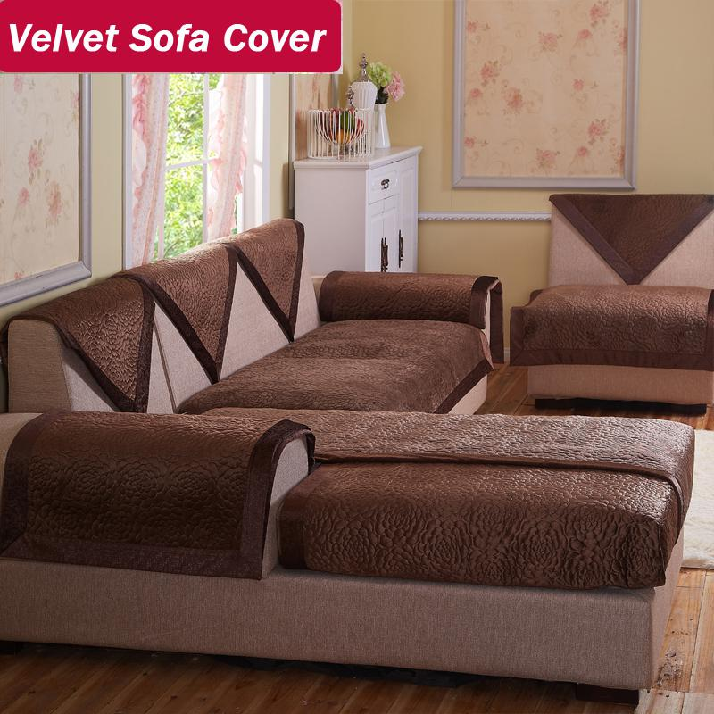 sofa chair covers for sale white wooden rocking wholesale velvet fabric brown decorative sofas double sectional modern ...