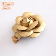 artificial leather flower design