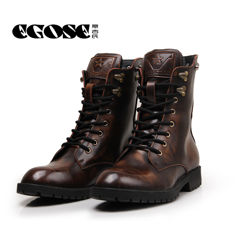 mens combat boots fashion