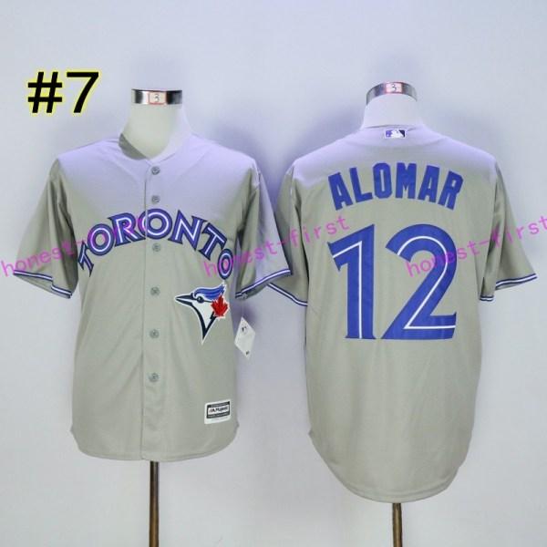 f9bafc889 2017 Flexbase 12 Roberto Alomar Jersey Toronto Blue Jays - Year of ...
