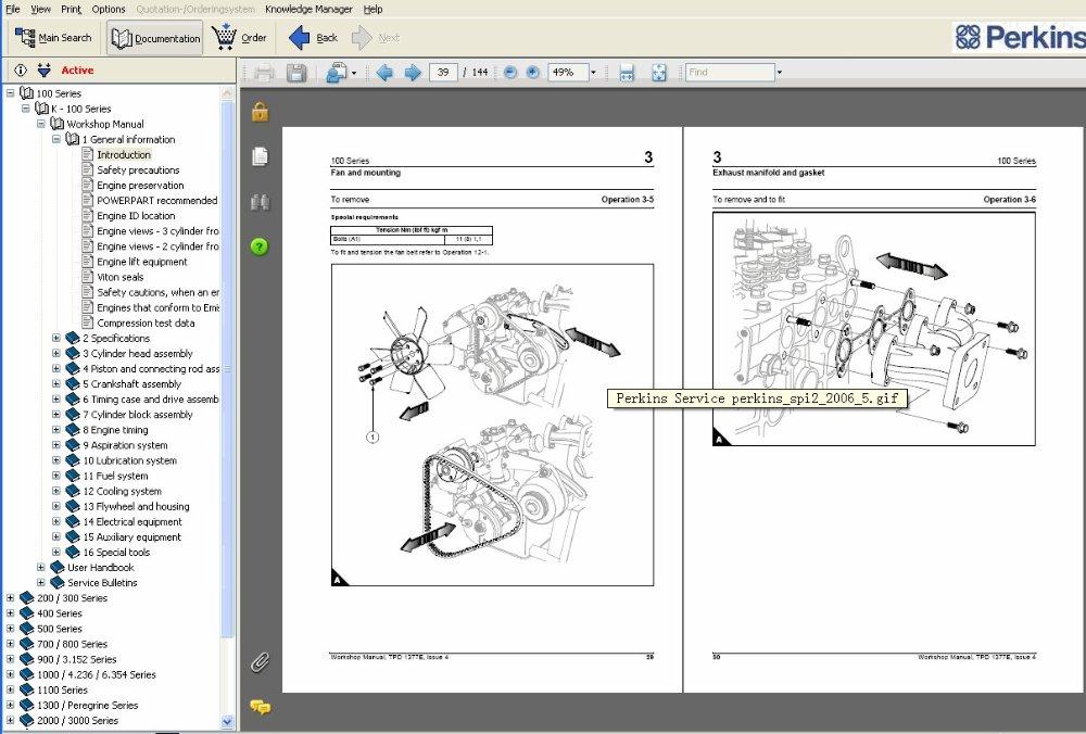 Workshop Manual For Perkins 3012