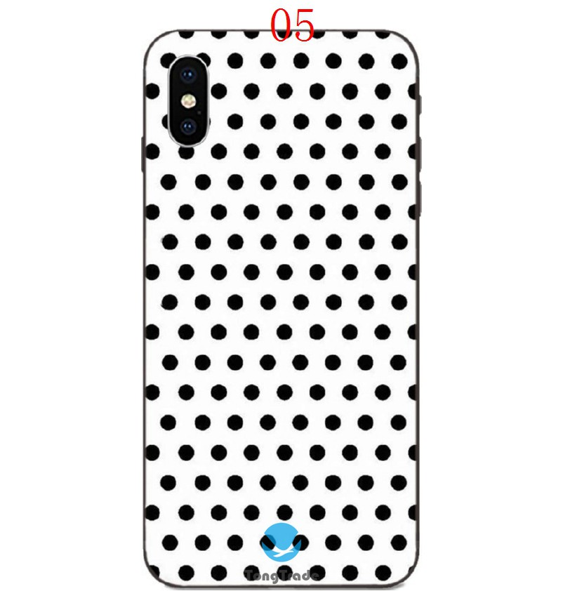 TongTrade Polka Dots Design Case For IPhone 8s 7s 6s Plus