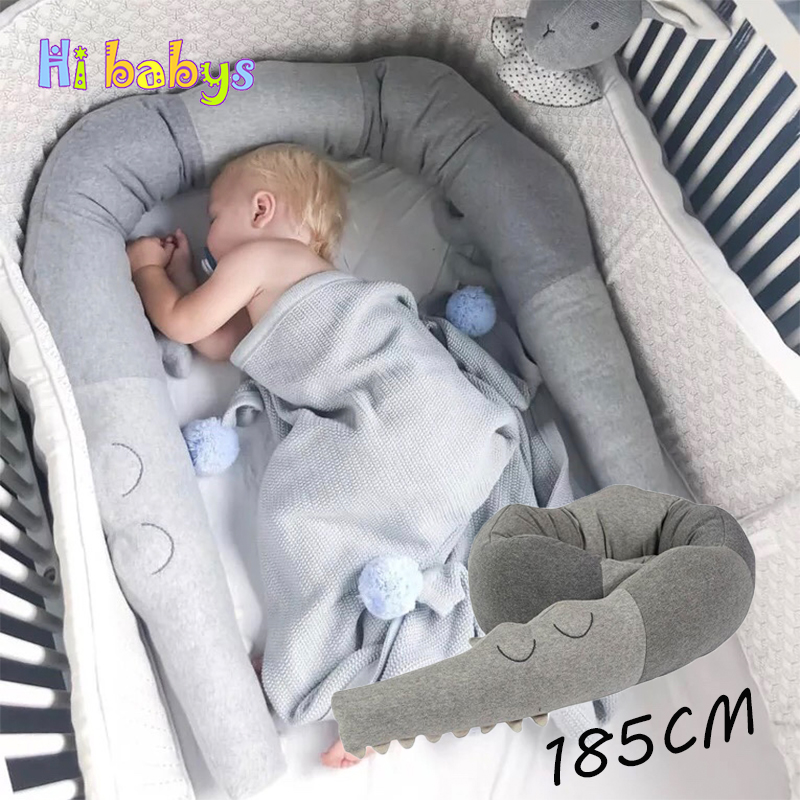 creative crocodile plush pillows crib