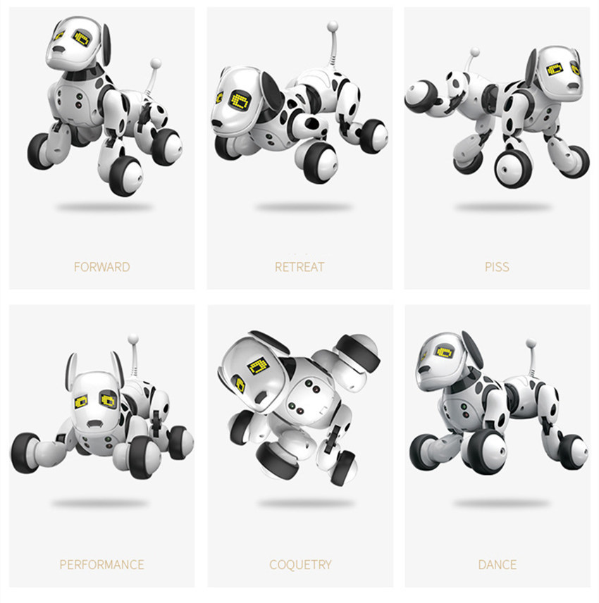 New Programable 2.4G Wireless Remote Control Smart Robot