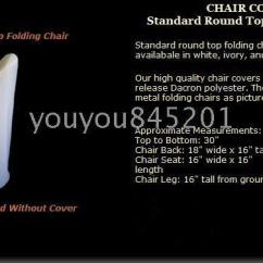 Folding Chair Leg Covers Walmart And Ottoman Standard Size 100 Polyester Fabric Cover A For Wedding Party Hotel Use Online With 416 67 Piece On Youyou845201 S