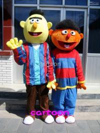Sesame Street Bert & Ernie Mascot Costume Adult Size! Full ...