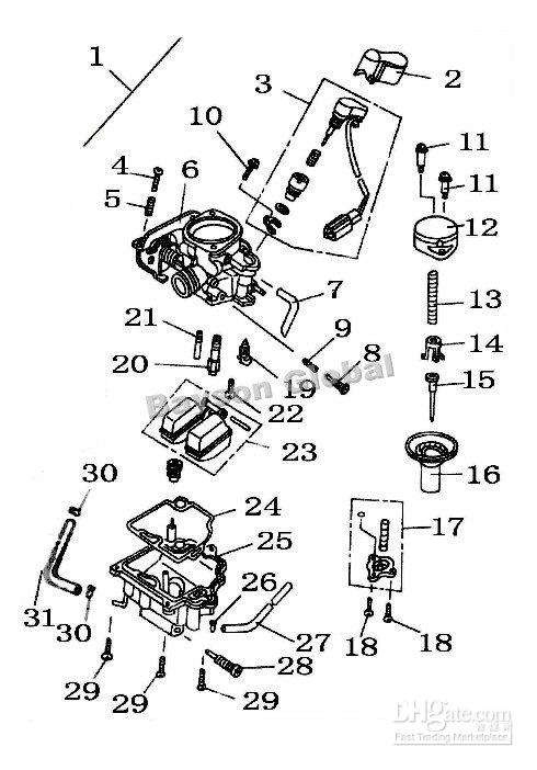 2020 Carburetor Idle Screw Scooter Parts 64089 From Angelss