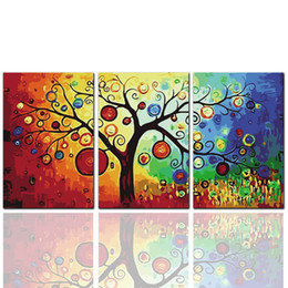 bright oil paintings canvas