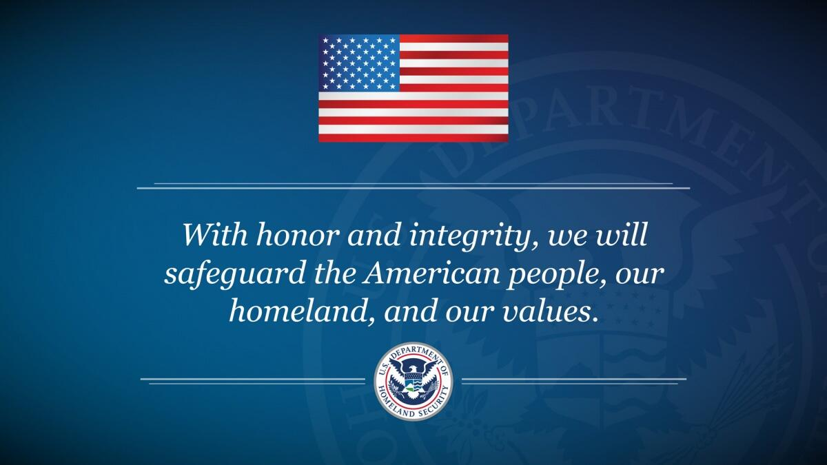 Our Mission  Homeland Security